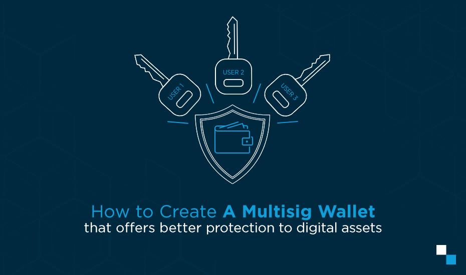 Multi signature bitcoin wallet