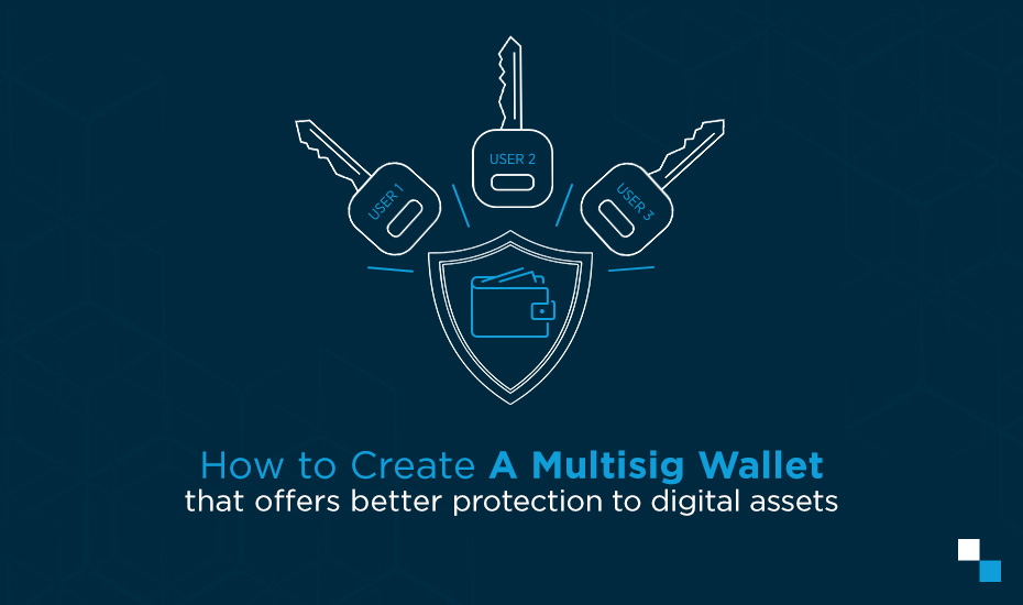 Multi signature bitcoin wallet