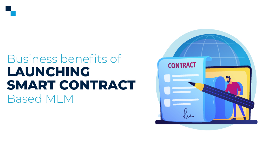 Blockchain smart contract developer for MLM matrix program