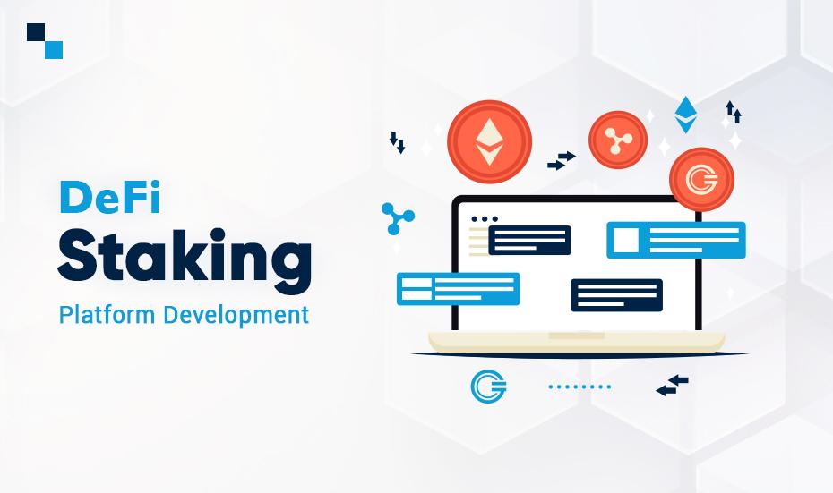 Develop DeFi Staking Platform