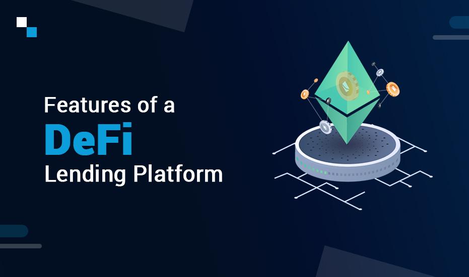 DeFi crypto lending platform