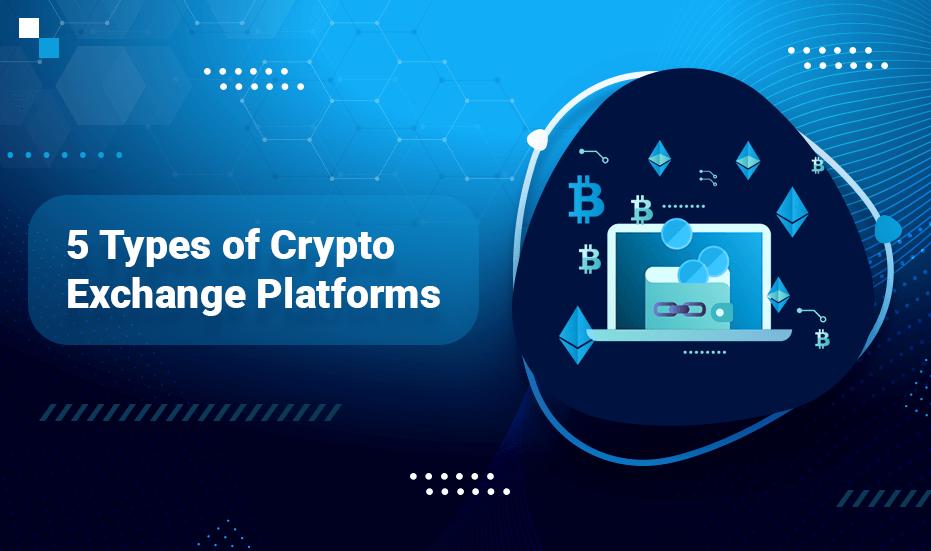 5 types of Crypto Exchange Platforms